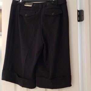 Lane Bryant size 14 Dressy,  black, Bermuda shorts